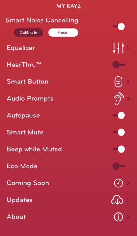 Pioneer Rayz app