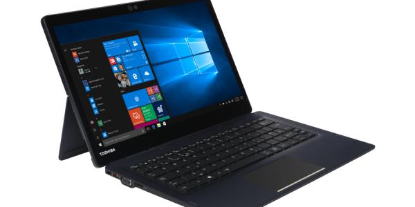 Toshiba presenterar nästa generationens 2-i-1 delbara laptop