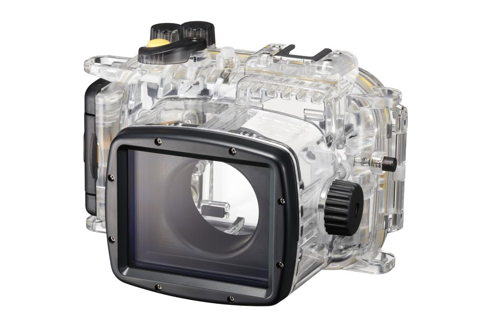 Dyksugen? Då är det tur att det finns ett undervattenshus till Canon-kameran. Foto: Canon