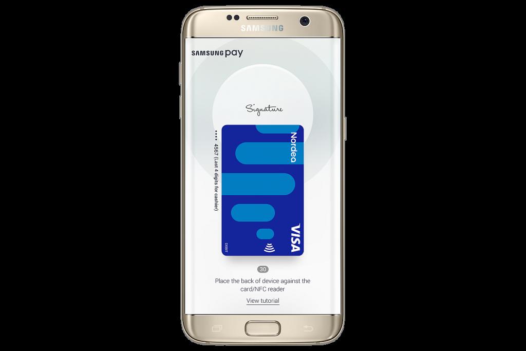 Samsung Pay Nordea