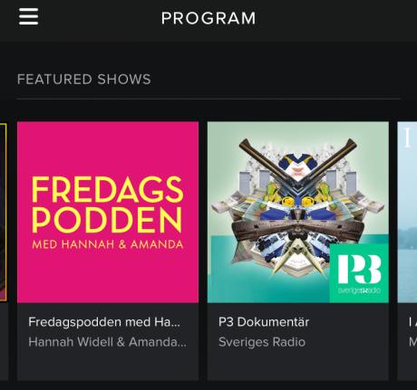 Spotify program