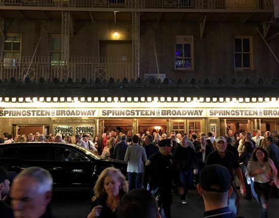 """Springsteen on Broadway"". Foto: brucespringsteen.net"