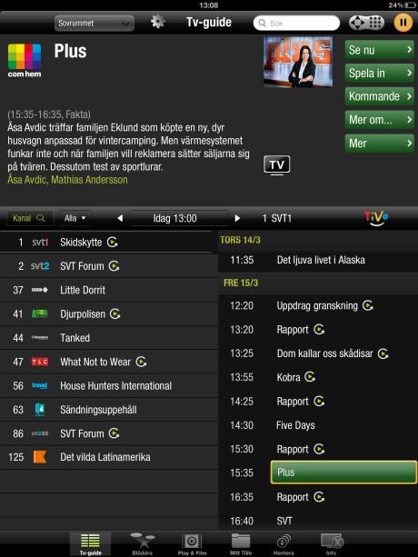 Comhem lanserar TiVo i Sverige - Ljud & Bild
