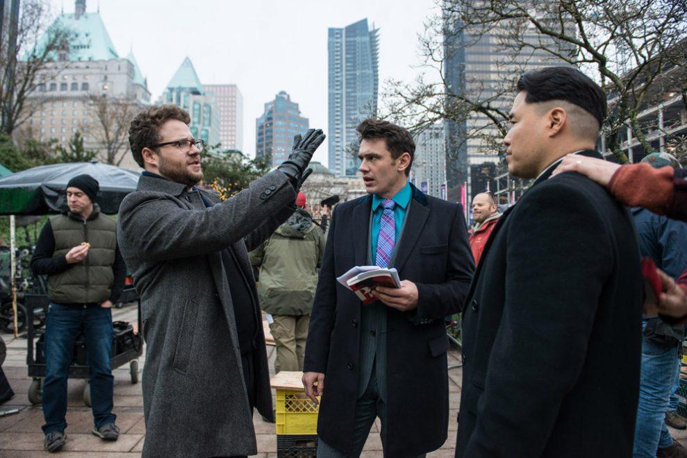 Seth Rogen;James Franco;Randall Park