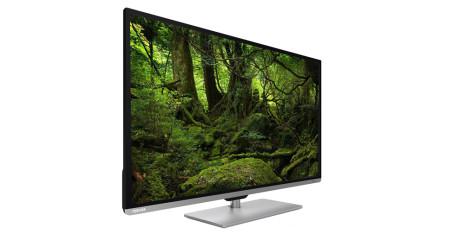Sju 50-tums TV-apparater