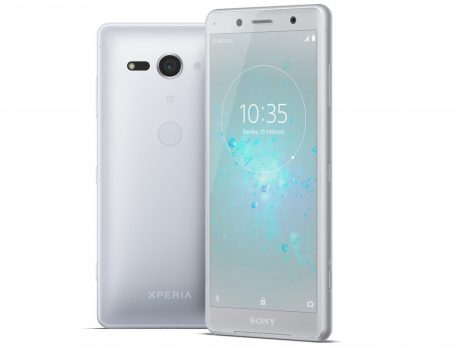 Xperia XZ2 Compact White Silver Group