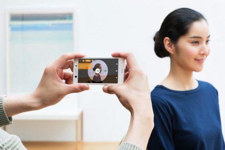 Sony Xperia XZ1 3D scan