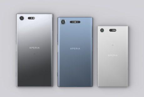 Sony Xperia XZ1 family