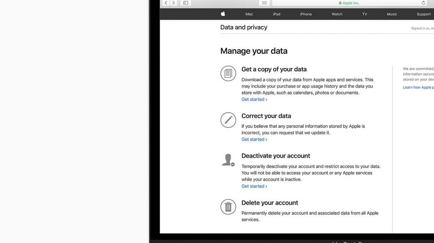 Så skyddas din integritet hos Apple