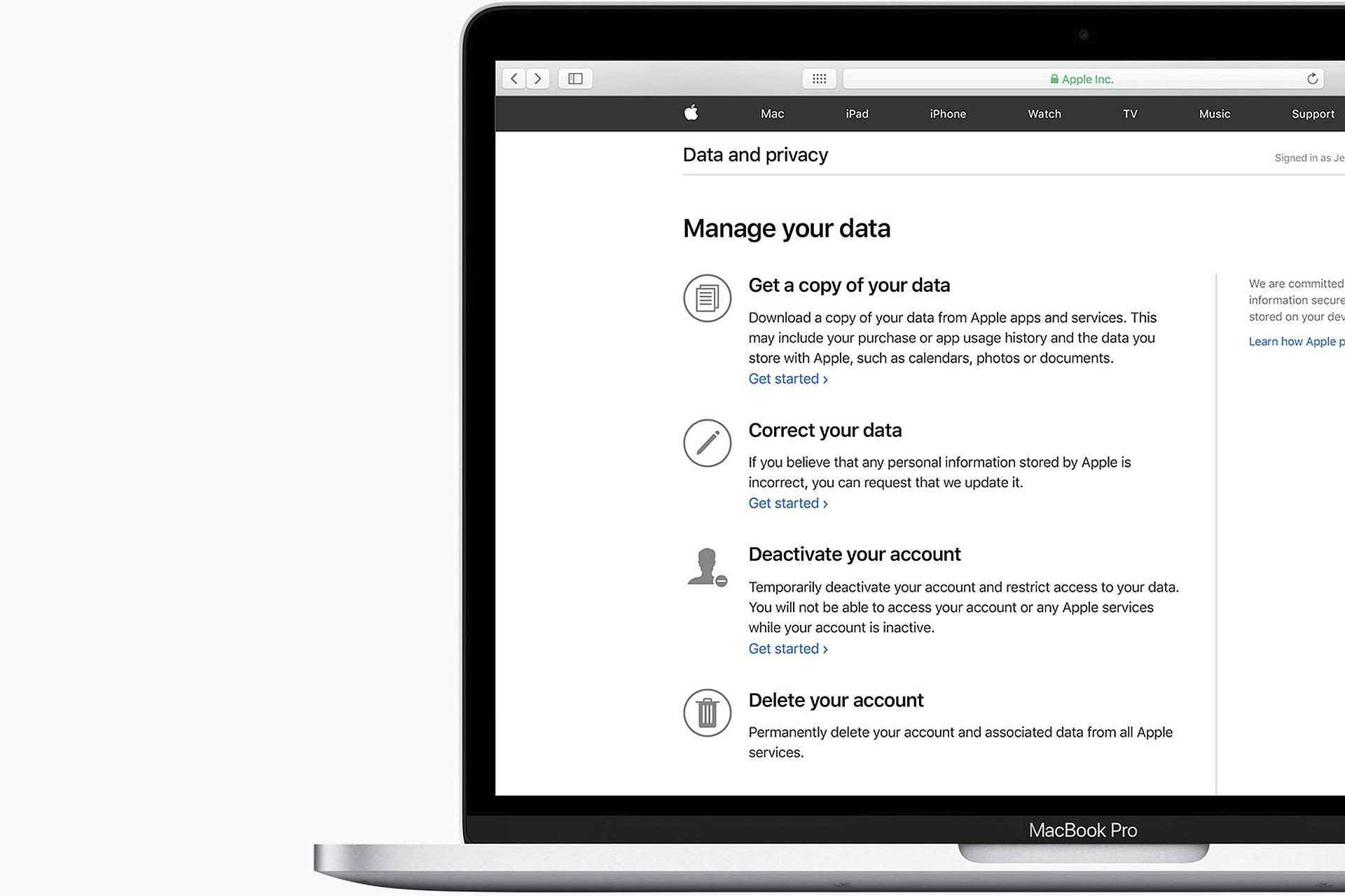 apple privacy mac