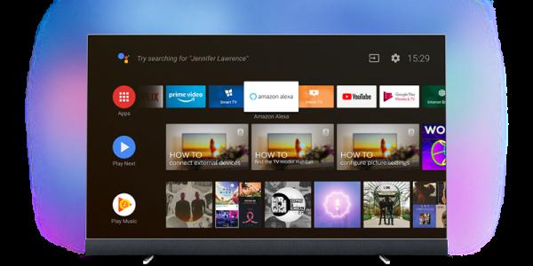 Philips TV introducerar stöd för Amazon Alexa
