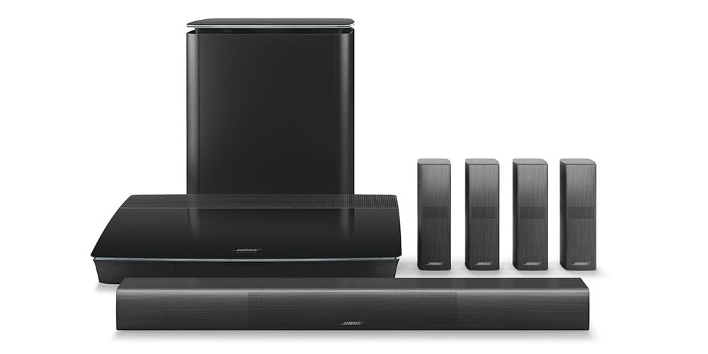 Lifestyle 650 är ett elegant surroundsystem. Foto: Bose