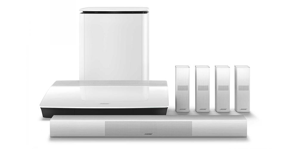 Lifestyle 650 (bilden) och 600 finns även i vitt. Foto: Bose