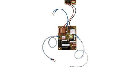 Mundorf-kondensatorer i ett 2:a ordningens delningsfilter.
