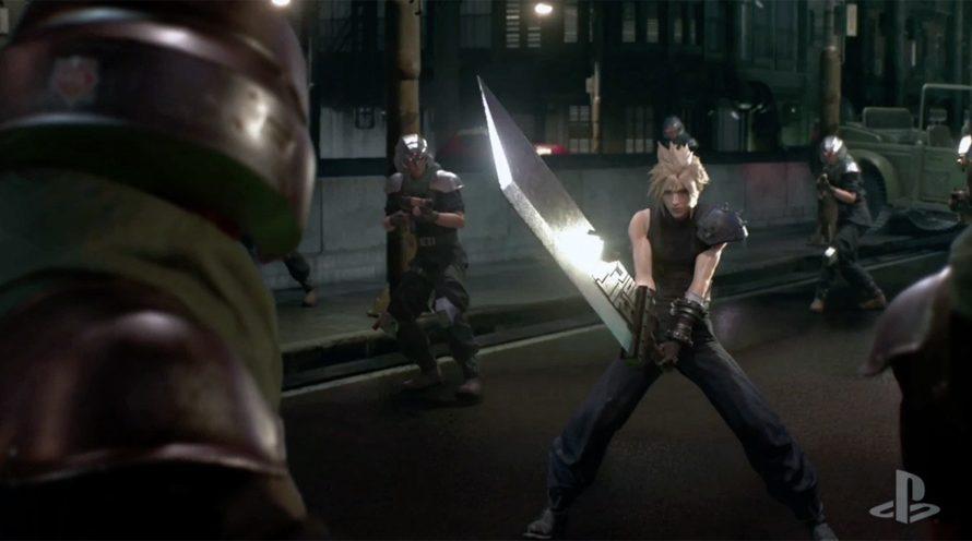 Så här ser nya Final Fantasy VII ut på PS2
