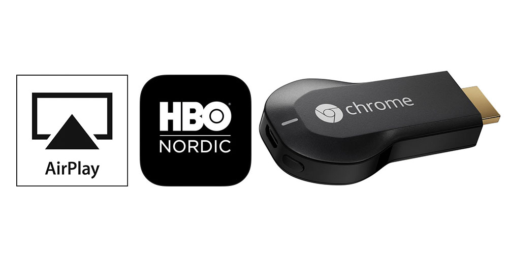 Chromecast i HBO Nordic - Ljud & Bild