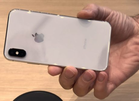 iPhone 8 white back