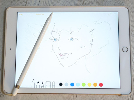 ipad pro drawing