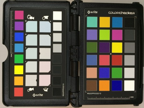 iphone 5s colorchecker