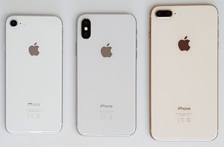 iphone x vs 8 backside