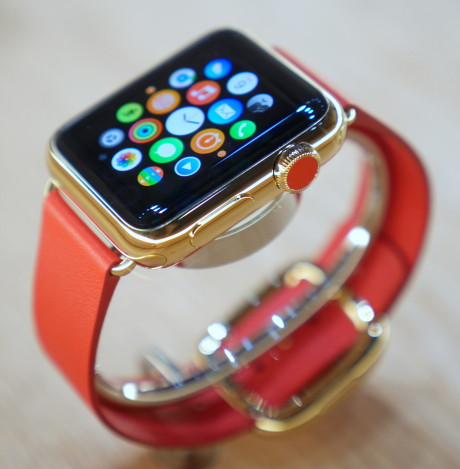 iwatch red gold