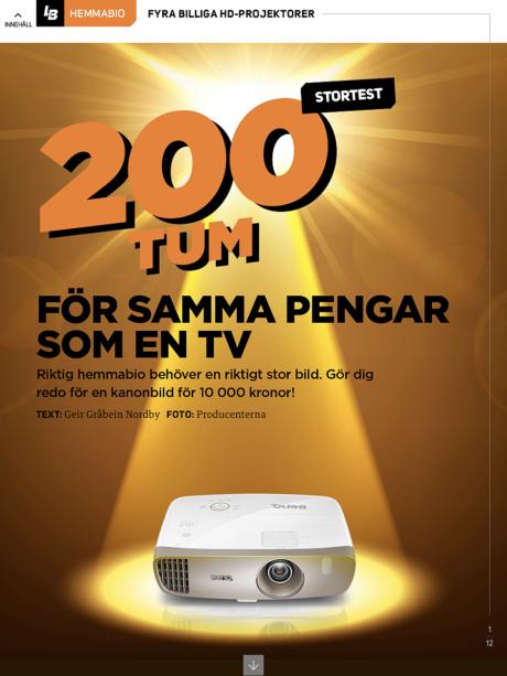 l&b 04 projektorer