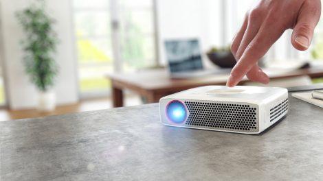6 bärbara projektorer