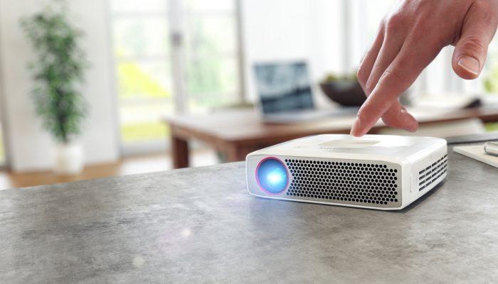 6 bärbare projektorer