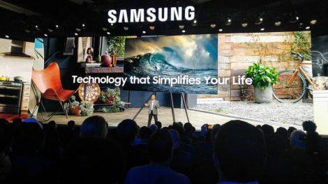 Första titten på Samsungs nya TV-modeller