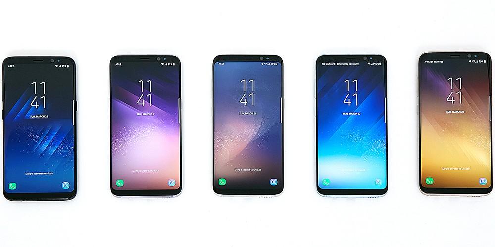 TEST  Samsung Galaxy S8+  89760d71f717d
