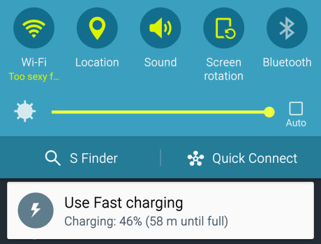 samsung s6 edge charging