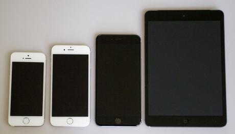 size comparison front