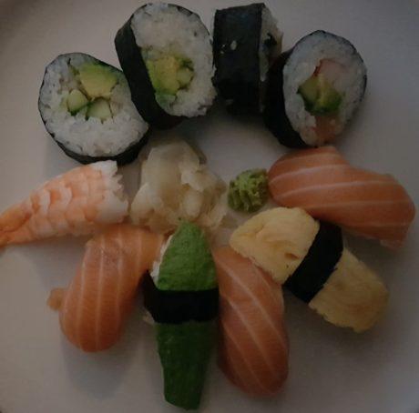 sushi dark galaxy s8 plus