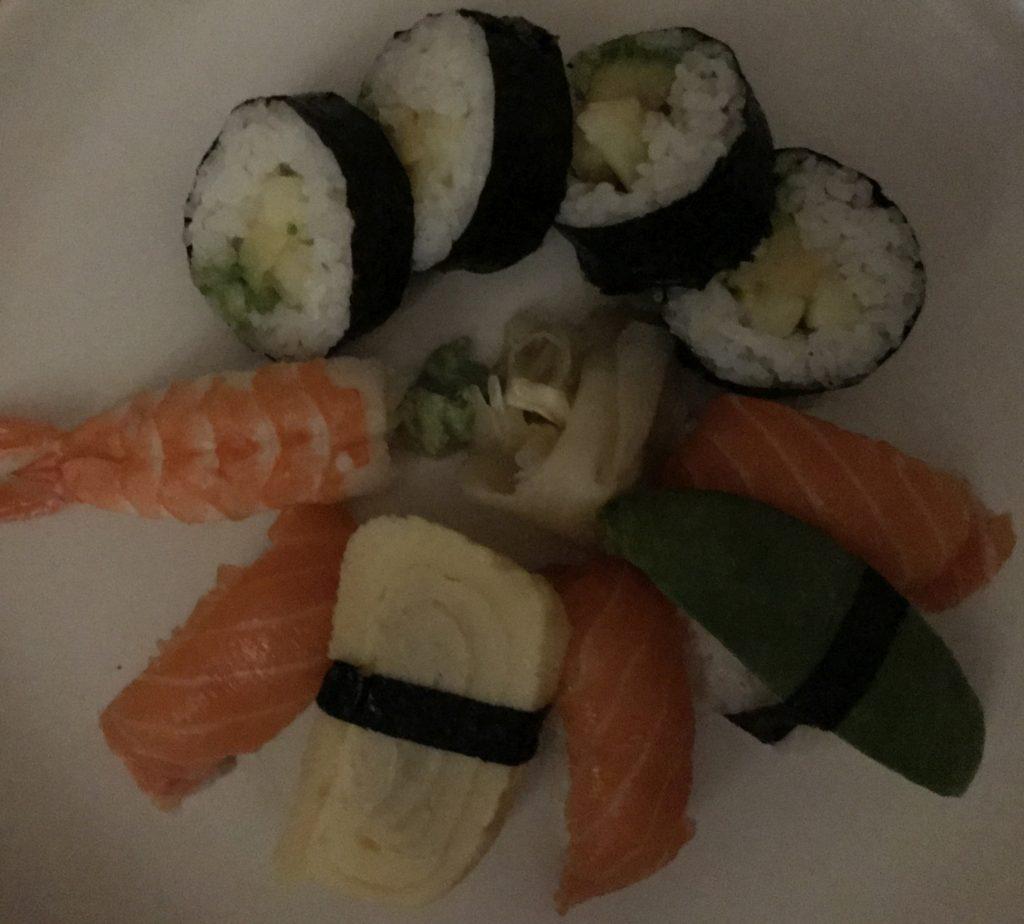 sushi dark iphone 7 plus