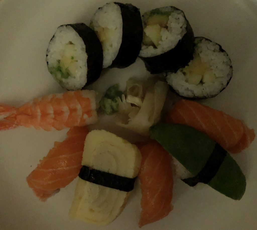 sushi dark iphone 8 plus