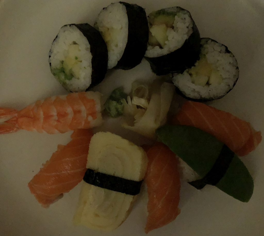 sushi dark iphone 8