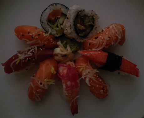 sushi dark xperia xz2 compact