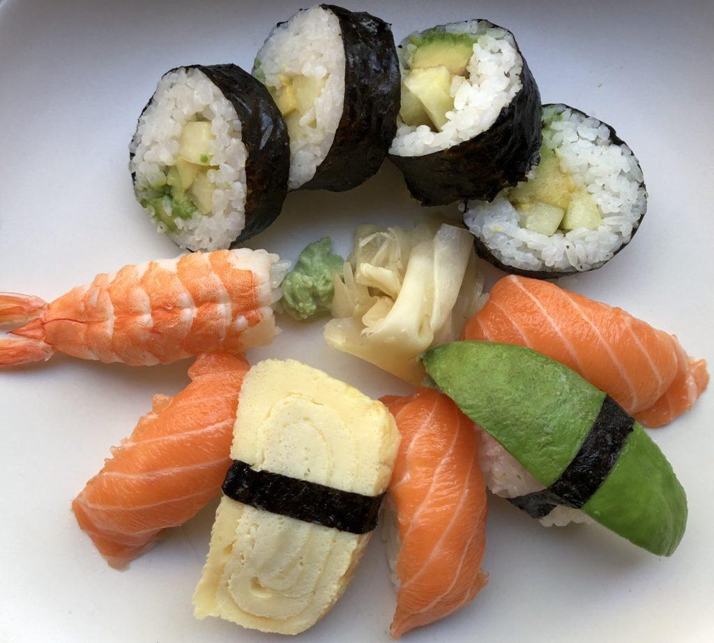 sushi light iphone 8