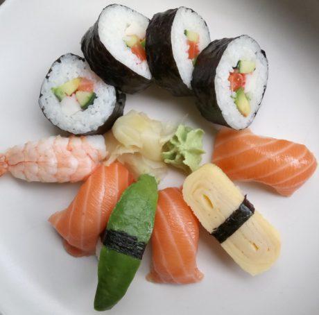 sushi light xperia xa