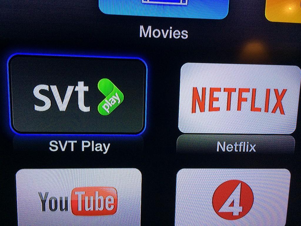 svt play på tv