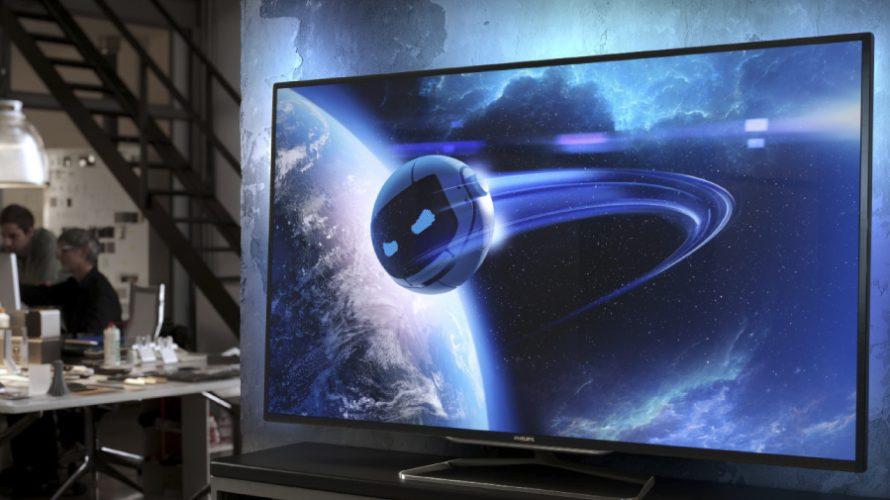 Smarta TV-apparater i 46–80 tum